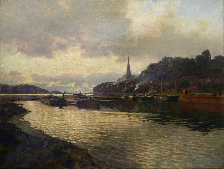 C.C.Schirm -  o.T. (kleiner Hafen)